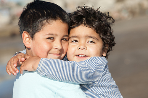 Terapia para niños-familia